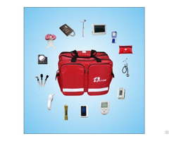 Portable Multi Functional Medical Inspection Bag For Emergency Treatment With Diagnostic Kits