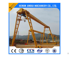 Gantry Crane 10 Ton With High Speed Hoist Used Outdoor