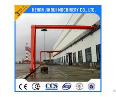 Semi Door Gantry Crane 8 Ton In Workshop China Factory