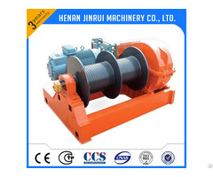 Double Speed Heavy Electric Winch 10 Ton China Facotry Manufacturer