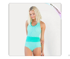 Adult Ming Blue One Piece Swimwear