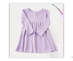 Girls Lavender Swing Dress