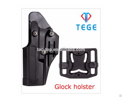 Polymer Holster For Glock With Release Button