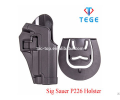 Sig Sauer P226 Holster With Quick Release Button