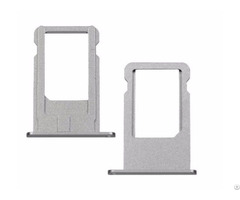 Sim Card Holder Tray Silver For Iphone 6s