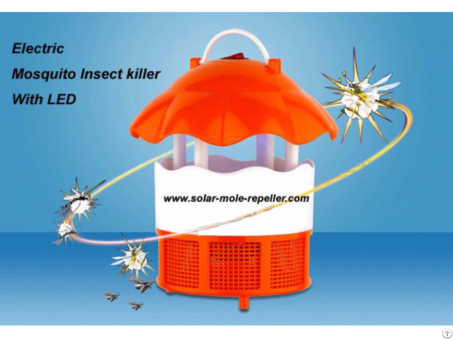 Usb Mosquito Killer Lamp Photocatalyst Flycatcher Zapper With 6 Led