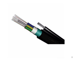 Air Outdoor Optic Fiber 12 Fibers Ftth Optical Cable