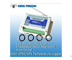 Gsm Temperature And Humidity Controller S260