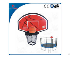 Createfun High Quality Trampoline Basketball Hoop