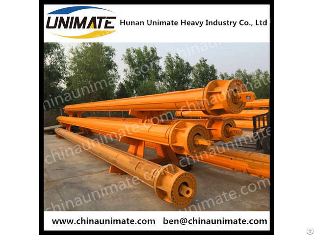Unimate 1 Year Warranty Rotary Drilling Rig Interlocking And Friction Kelly Bar