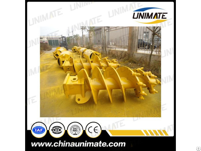 Unimate Factory Rotary Drilling Rig Drill Rock And Clay Auger Cfa