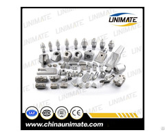 Unimate Drill Bits And Holders Round Bullet Bit Flat Teeth For Drilling