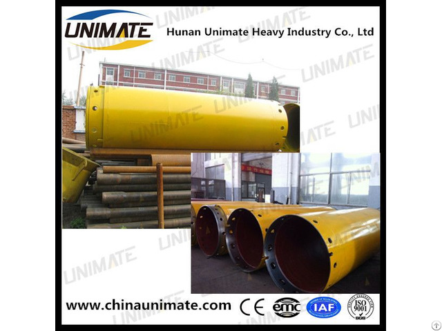 Unimate Factory Rotary Drill Casing Tube Double And Single Wall Pipes For Drilling