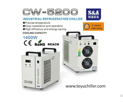 S And A Chiller Cw5200 With Double Output For Dual Laser Cooling