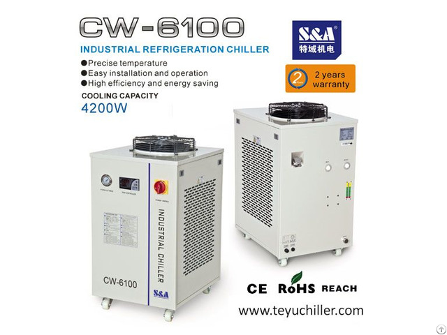 S And A Air Cooled Industrial Chiller With Cooling Capacity Of 4 2kw