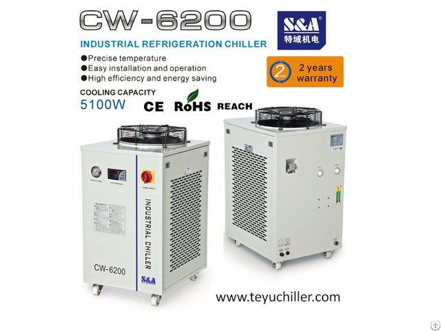 S And A Water Cooled Industrial Chillers For Ozone Generators Cooling
