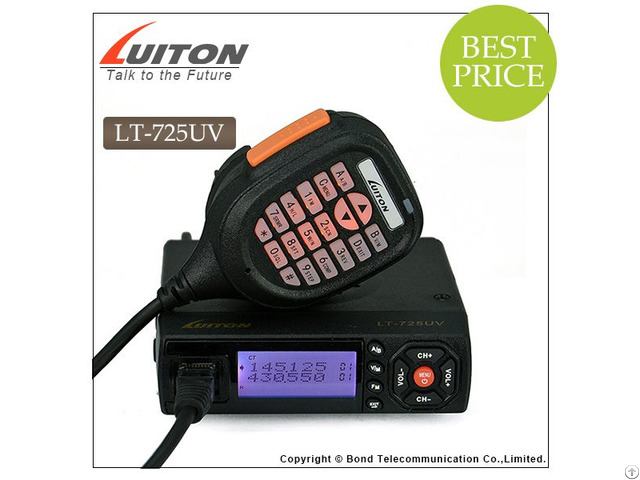 Poket Mobile Radio Lt 725uv Dual Band