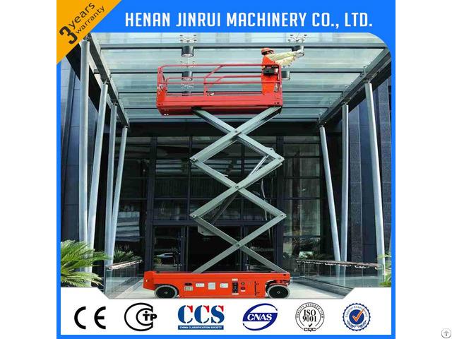 Electric Mobile Battery Lift Platform 10m 300kg China Supplier