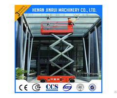 Electric Mobile Battery Lift Platform 10m 300kg China Supplier
