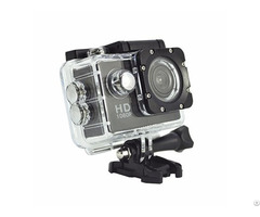 Dtc D12 Mini Fhd 1080p Waterproof Helmet Action Camera