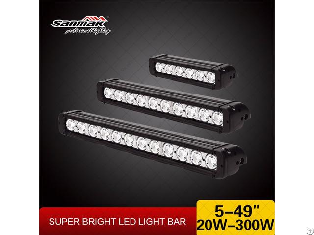 Single Row Led Light Bar