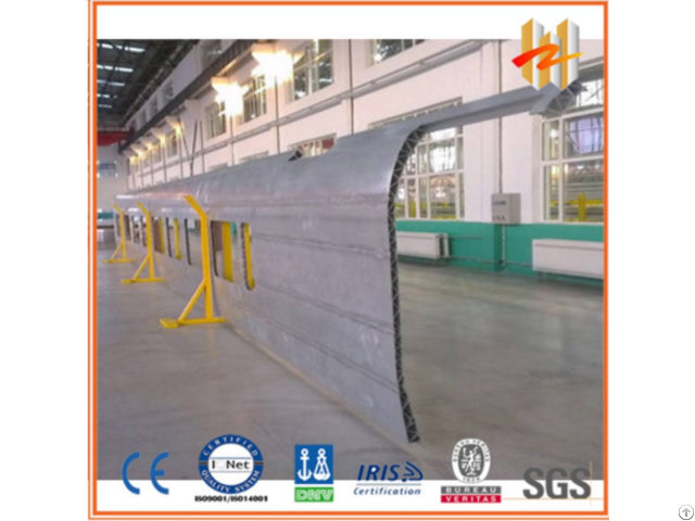 Aluminum Extrusion Profile Of Side Wall Used For High Speed Railway And Metro