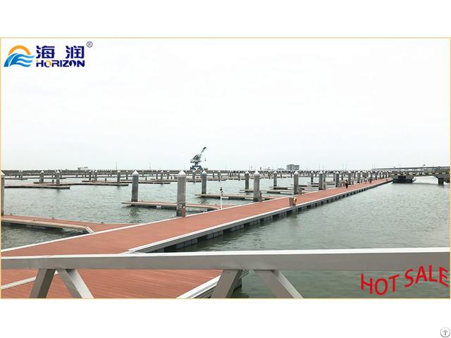 Factory Manufactured Directly Aluminum Alloy Frame Floating Pontoon