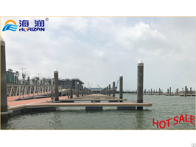 Low Price Stable Aluminum Alloy Floating Pontoon