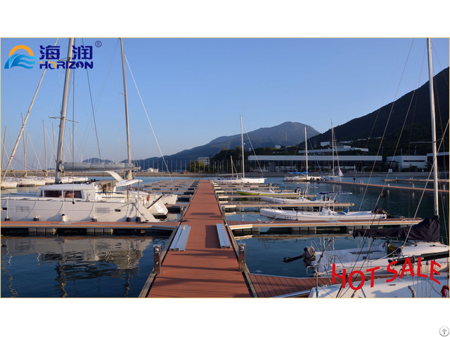 Longer Life Span Aluminum Floating Docks Pontoon Made In China