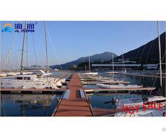 Longer Life Span Aluminum Floating Docks Pontoon Made In China