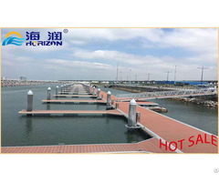 Hot Dipped Galvanized Steel Frame Floating Pontoon
