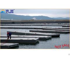 Hdpe Modular Concrete Ship Marine Floating Dock Pontoon