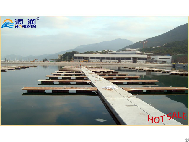 Marina Concrete Floating Docks Pontoon Manufacturers