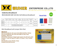 Wishboard Mini Self Adhesive Breadboard