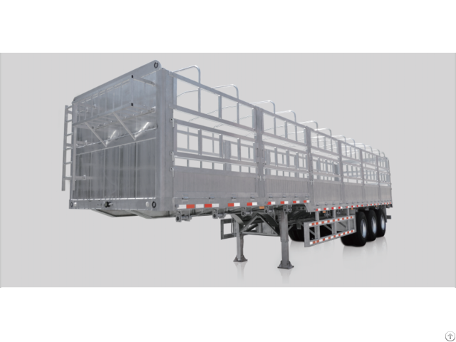 Aluminum Trailer Truck Body Made Of Extruded Profiles