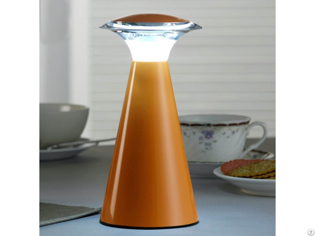 Plastic Material Rechargeable Battery Operated Angel Restaurant Table Lamp