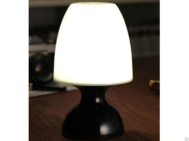Rechargeable Battery Powered Remote Control Led Mood Table Lamp