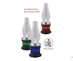 Kerosene Blown Type Battery Operated Hotel Restaurant Led Table Lamp