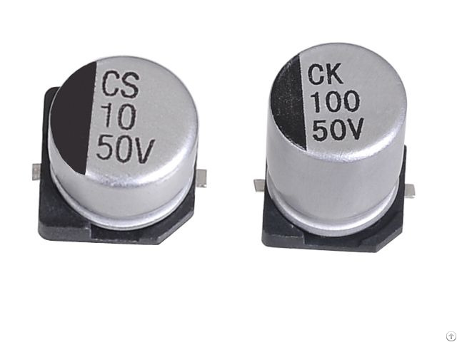 Jck Smd Aluminum Electrolytic Capacitors 2000hrs At 85 C