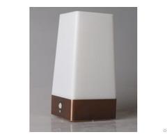 Battery Operated Square Shape Pir Motion Sensor Led Table Lamp