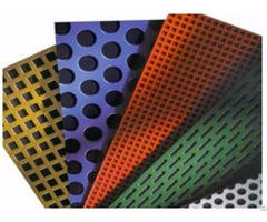 Perforated Plate Smooth High Strength Lightweight