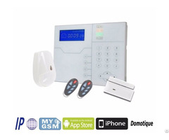 Wifi And Gsm Alarm Control Panel Wireless Wired Security System