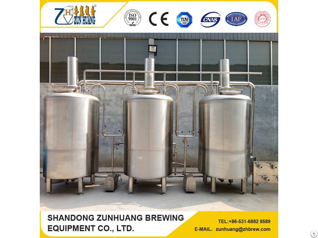 Turnkey Project Stainless Steel Ce Craft Beer Small Brewery Equipment 500 Liters