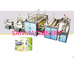 Kitchen Towel Paper Rewinding Machine