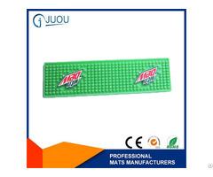 Fashion High Quality Promotional Soft Pvc Bar Mat