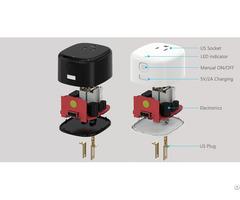 Support Google Smart Home Wifi Socket Aluminum Ear Plugs With Ce Certificate