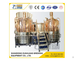 Ce Iso Certificate Micro Brewery Equipment 500l