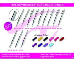 Jointless Professional Eyelash Extension Tweezers