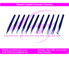Professional Titanium Eyelash Extension Tweezers