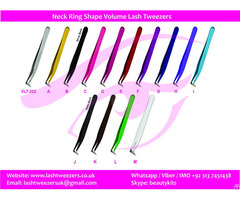 Neck Ring Shape Volume Lash Tweezers
